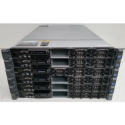 Dell (E01S) Quad-Core Xeon CPU (E5620) 2.40GHz 1RU Servers - Lot of Six