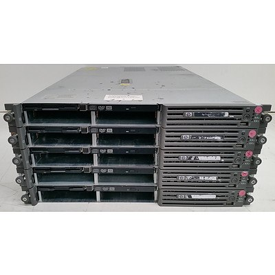 HP ProLiant DL360 G4p Dual Xeon 1RU Servers - Lot of Five