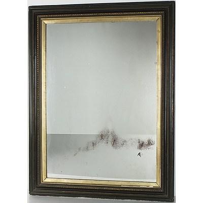 Vintage Moulded Gesso Framed Mirror