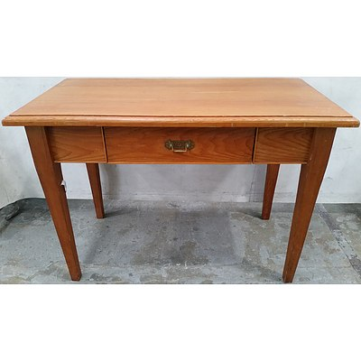 Stained Pine Writing Desk