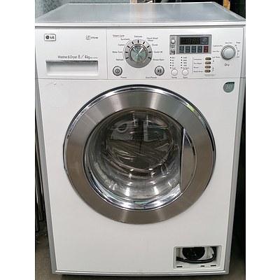 LG Direct Drive Inverter Combination Front Loader 8kg Washing Machine/4kg Dryer