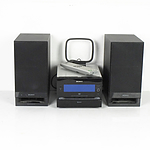 Sony Micro Hi-Fi Component System With Two Speakers