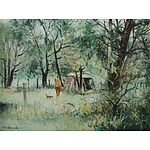 CARROLL, Patrick (b.1949) 'On a Bright Bush Morn, Berrima' Oil on Canvas on Board