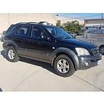 5/2003 Kia Sorento EX 4d Wagon Black 3.5L