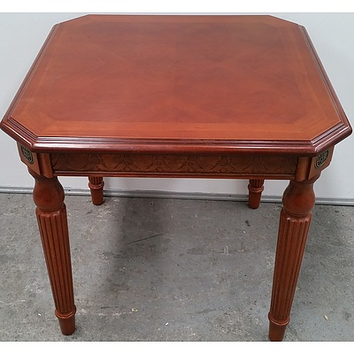 Theseira Cherrywood Occasional Table