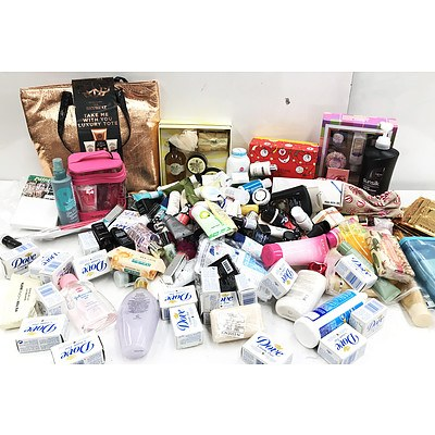 Bulk Lot of Make-Up Soaps and Body Care Products - RRP Over $800 - Brand New