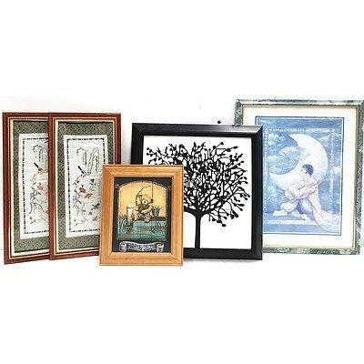 Prints Artworks Mirrors & Frames - Lot of 13