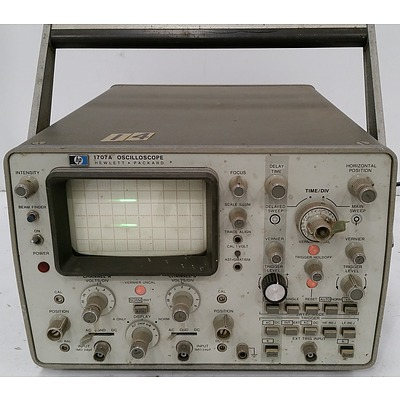 Hewlett Packard 1707A Oscilloscope