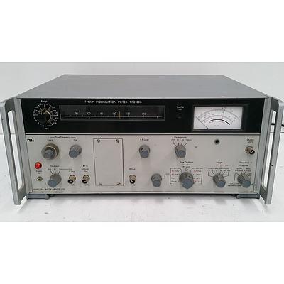 Marconi FM/AM Modulation Meter - TF2300B