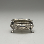 Monogrammed Sterling Silver Bon Bon Dish, London, Martin Hall & Co, 1876, 65g