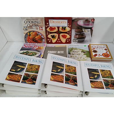 Selection of Cookbooks - Lot of 20