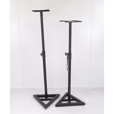 Pair of On-Stage Studio Monitor Stands