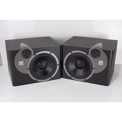 Pair of Acoustic Energy AE22 Active Studio Monitors