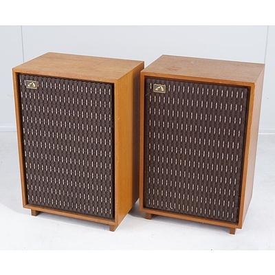Pair of His Master's Voice Passive Speakers