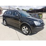 11/2009 Holden Captiva 5 (fwd) CG MY10 4d Wagon Black 2.4L
