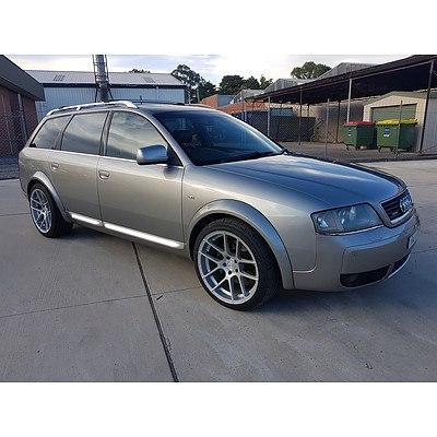 9/2002 Audi Allroad Quattro  C5 4d Wagon Silver 2.7L