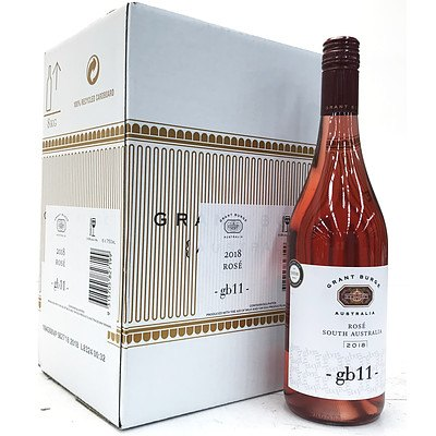 Case of 6x 750ml Bottles 2018 Grant Burge GB11 Rose - RRP $75.00