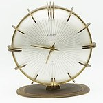 Mid Century German Europa 7 Jewel Mantle Clock