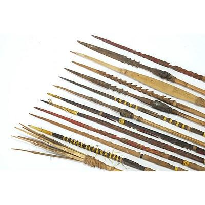 13 Arrows, Papua New Guinea Circa 1975