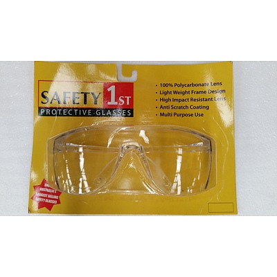 Safety 1st Clear Lens Safety Glasses - Lot of 79 - New