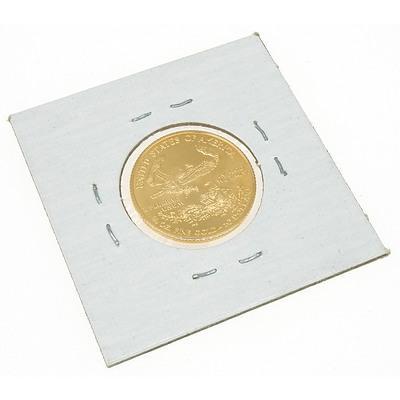 1998 USA 1/4 oz Fine Gold 10 Dollar Coin