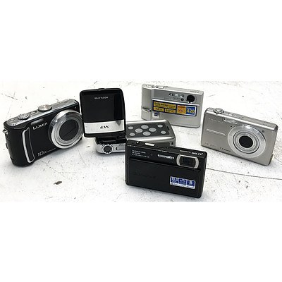 Digital Cameras & Video Camcorder - Lot of 5