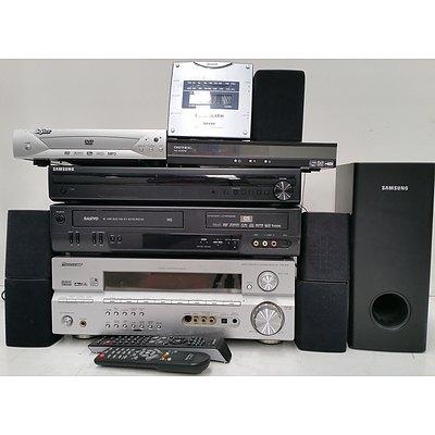 Samsung Surround Sound Speaker System and Component Audio Visual Equipment