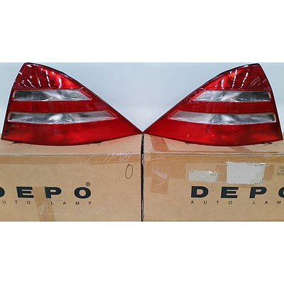 Set of Tail Light Lenses for Mercedes W220 Sedan - Brand New - RRP $450.00