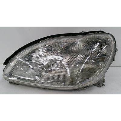 Headlight for Mercedes S Class Saloon W220 Sedan