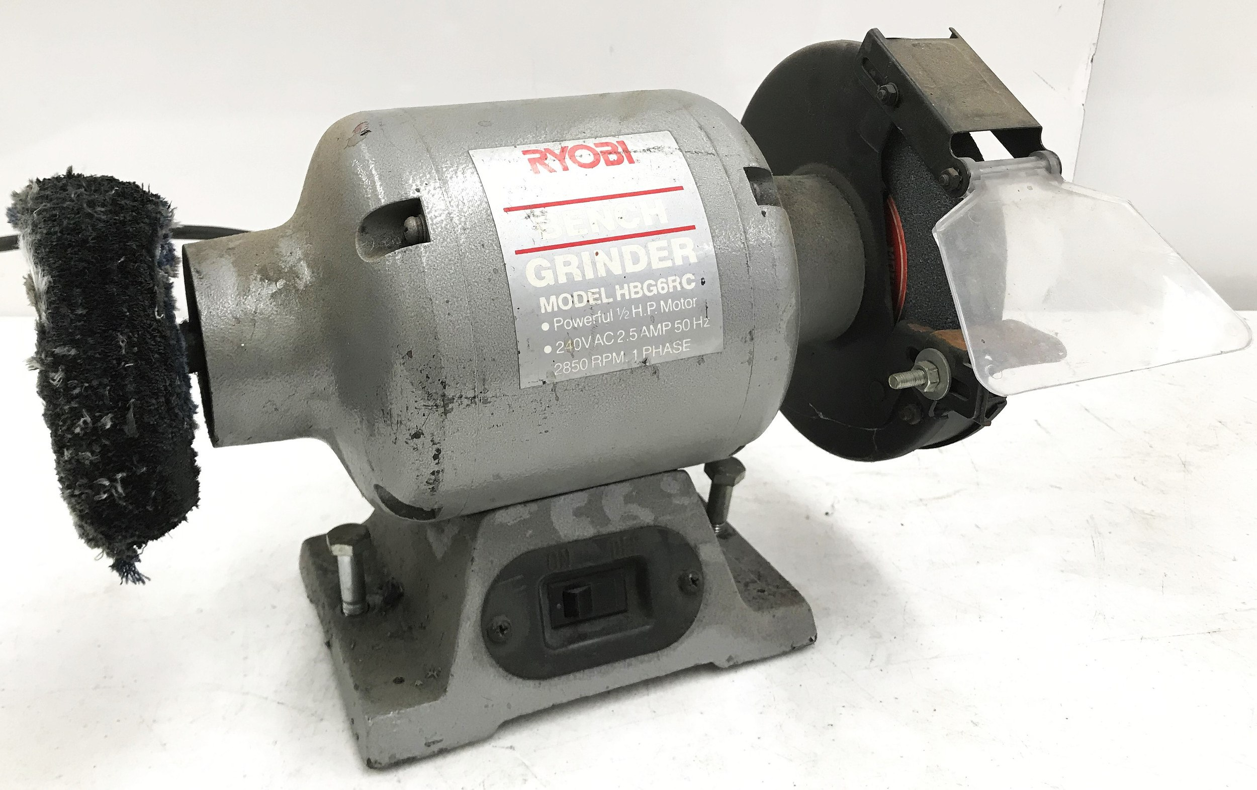 Fine Ryobi Hbg6Rc 150Mm Bench Grinder Caraccident5 Cool Chair Designs And Ideas Caraccident5Info