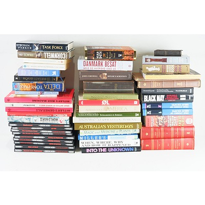 Group of Books Including Wilbur Smith, Dan Brown, Anthony Hill and More