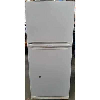 Mitsubishi 385 Litre Upright Fridge/Freezer