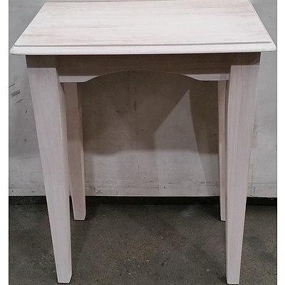 Hardwood Console/Hall Table