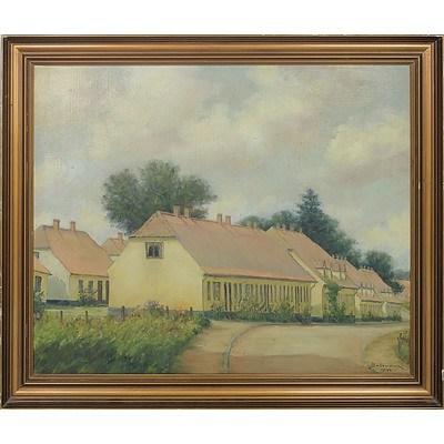 Carl Bosewang (Denmark XX) Oil On Canvas