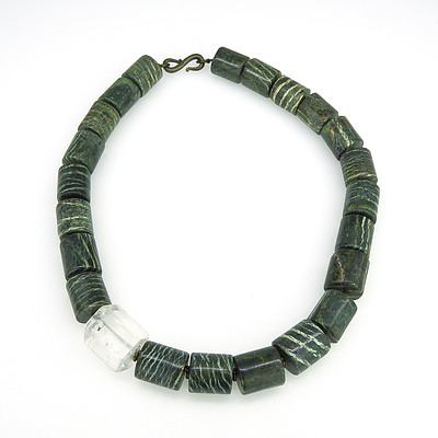 Necklace of Zebra Jasper