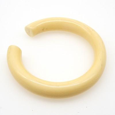 Carved Ivory Bangle
