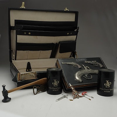 Gavel, Briefcase, Curios Box and More