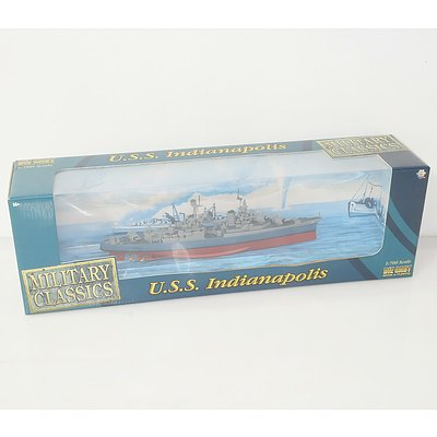 Gearbox Toys Military Classics 1:700 USS Indianapolis and USS Intrepid