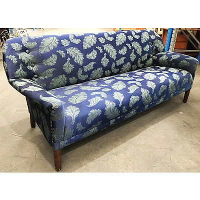 3½ Seater Floral Lounge