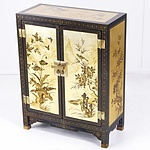 Contemporary Asian Lacquered Cabinet