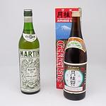 Gekkeikan Japanese Sake 750ml and Martini & Rossi Martini Dry Vermouth 750ml