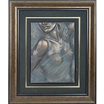 Bill Mack (1944-) Allure, Bonded Bronze Relief