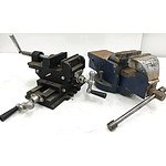 Bench Vise & Compound Cross Vise