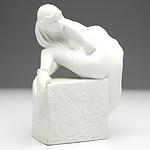 Christel Marott (Danish 1919-1992) Royal Copenhagen Pisces Porcelain Figurine