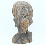 Balinese Carved Macassar Wood Bust