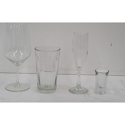 Assorted Glassware -Lot of 23 Pieces
