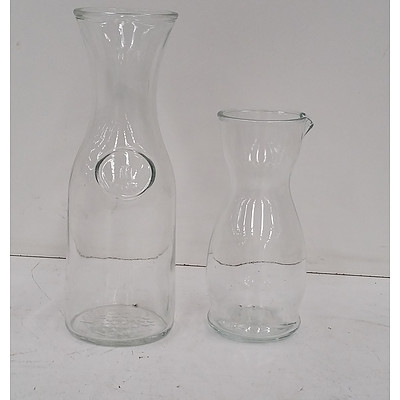 Wine/Water Carafes - Lot of 15