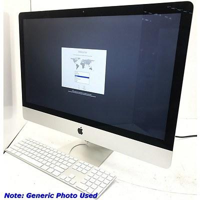 Apple iMac A1419 27 inch Widescreen Core i5 4670 3.4GHz