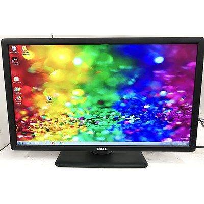 Dell P2412Hb 24 Inch Widescreen FullHD LED-Backlit LCD Monitor