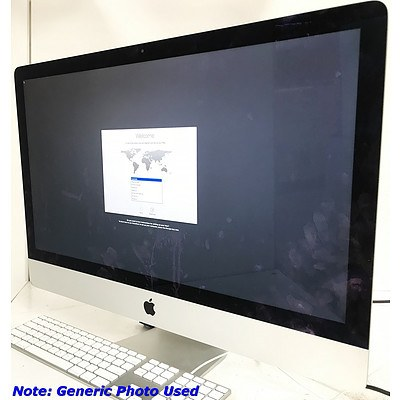 Apple iMac A1419 27 inch Widescreen Core i5 4670 3.4GHz
